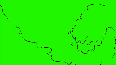 Waves Crashing Drawing 2D Animation Animation