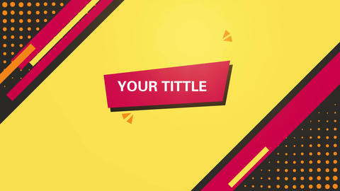 Yellow_background_design_motion_Graphics After Effects Template