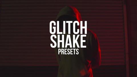 Glitch Shake Presets Premiere Pro Template