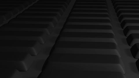 camera moving above keys to success key Animation