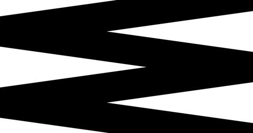 abstract multi triangle and square shape brush stroke stripes black and white transition background, Live Action