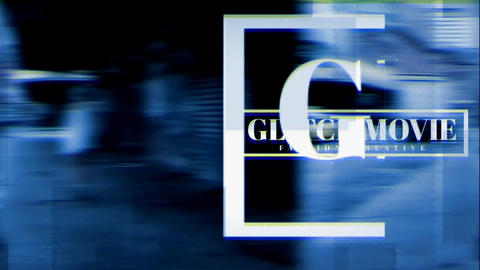 Glitch Opener III After Effects Template