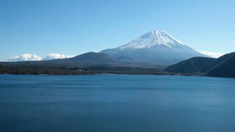 富士山 本栖湖02 5D Footage