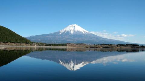 富士山 田貫湖01 5D Footage