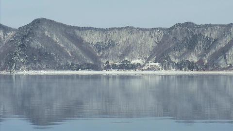 本栖湖-雪02 Footage