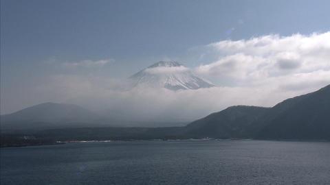本栖湖-雲004 Footage