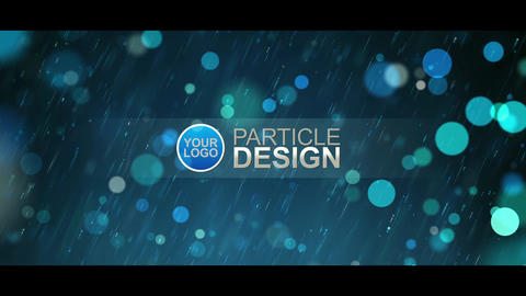 Particle Design After Effects Template