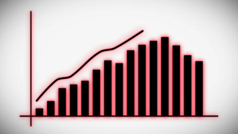 Graph Growth Chart Infographics Profit Stats Animation, Graph Growth Chart Infographics Profit Stats Animation
