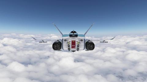 Spaceship Animation