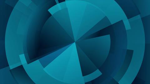 Dark blue technology gear diagram video animation Animation