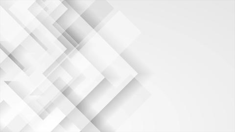 Abstract light grey technology geometric video animation Animation