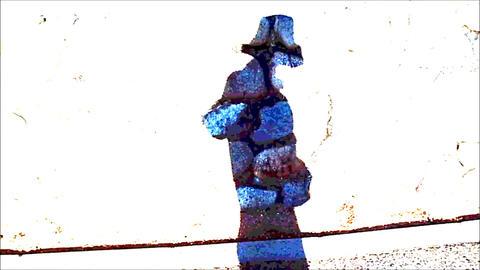 A Pop Rock Pattern Person's Silhouette ライブ動画