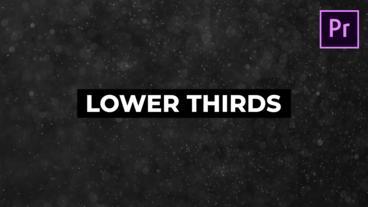 Lower Thirds Plantillas de Motion Graphics