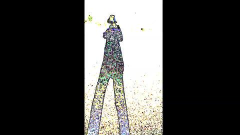 Colorful Walking Human 1 ライブ動画
