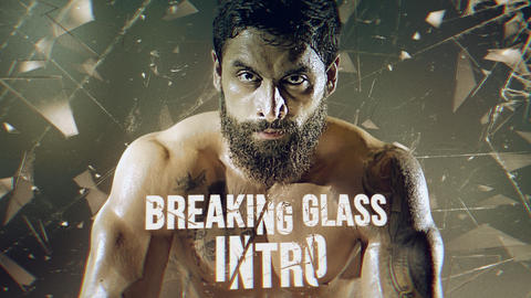 Breaking Glass Intro Premiere Pro Template