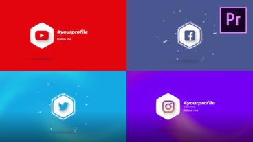 Social Logo Motion Graphics Template