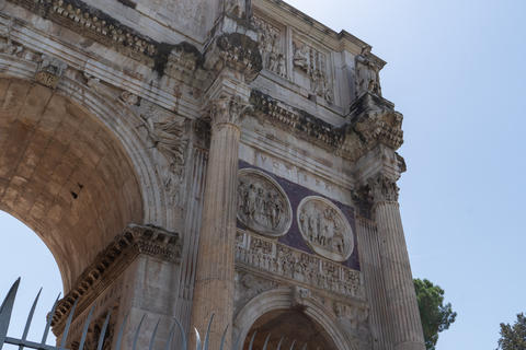 Fragment of the Arch of Constantine Photo