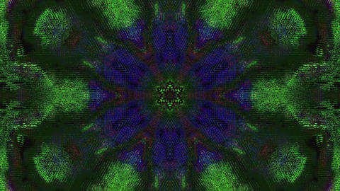 Charming bad trip effect flare holographic background. Surrealistic effect Live Action