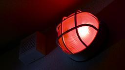 Red Flashing Warning Alarm 2 Live Action