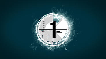 Epic Countdown Logo After Effects Template