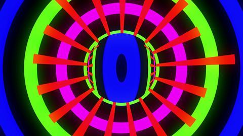 Crazy Color 4K 02 Vj Loop Animation