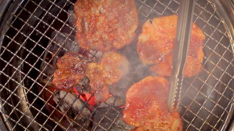 Korean fork BBQ Live Action