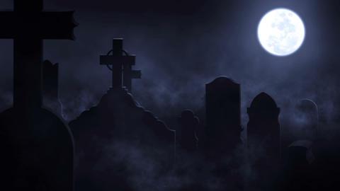 Moon Cemetery (1) Animation