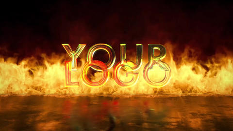 Fire Logo V2 After Effects Template