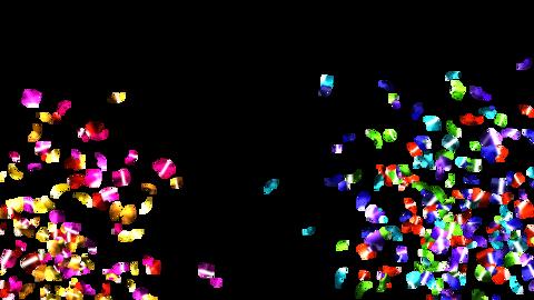 Confetti Wside COLORFUL(QT alpha)4K