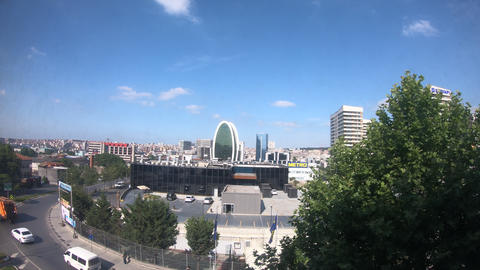 Istanbul City View 4k ビデオ