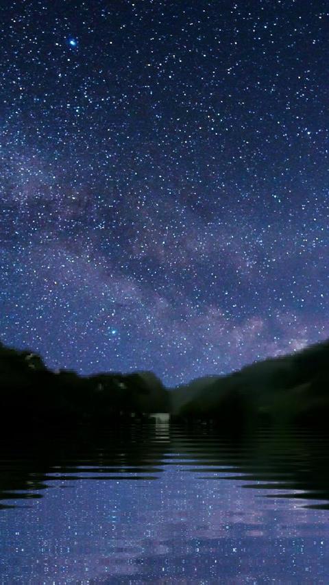 Starry sky 01 Animation