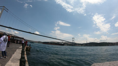 Istanbul Bridge View Live Action
