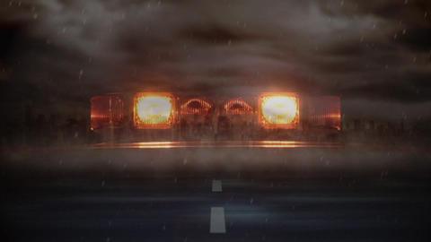 Tornado moving towards the camera Animation