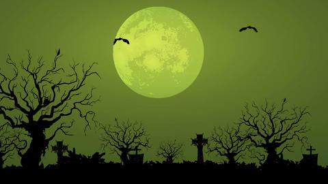 Spooky Moon (1) Animation