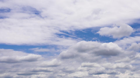 TimeLapse - Movement of summer clouds ビデオ