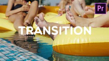Transition モーショングラフィックステンプレート