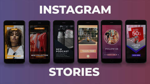 Instagram Stories After Effects Template