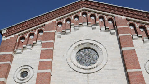 In italy ancient religion building 0003 Footage