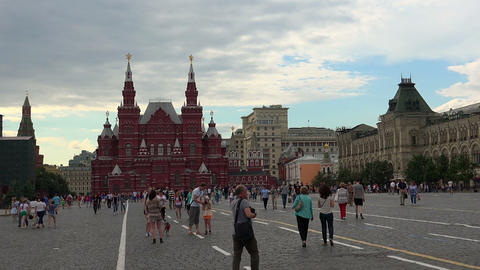 Red Square in Moscow. The main attraction of Russia Footage