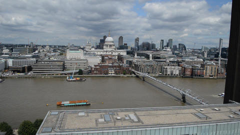 View of the City of London (1) Footage