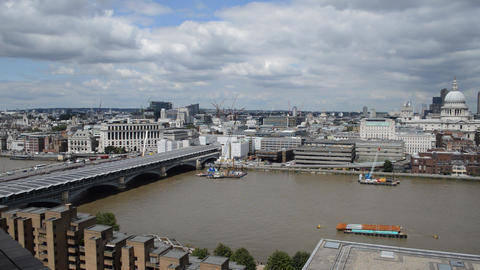 View of the City of London (2) Footage