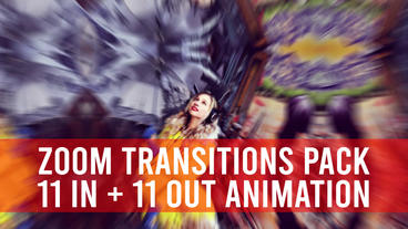 Zoom Transitions Pack Premiere Pro Template