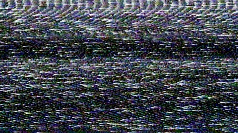 Vhs Tape Noise Overlay Animation