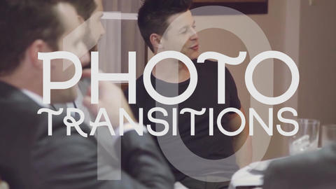 Photo Transitions After Effects Template