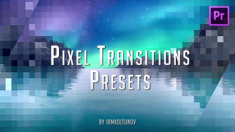 Pixel Transitions Presets Premiere Pro Effect Preset