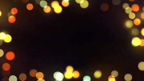 Bokeh Frame Background Loop 01 GIF