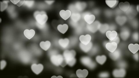 Love Bokeh Background Loop 03 Animation