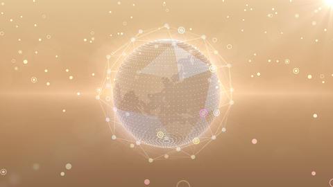 Earth on Digital Network 18 R1W 4k Animation