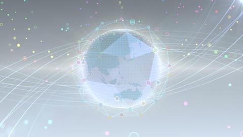 Earth on Digital Setwork 18 S2W 4k Animation