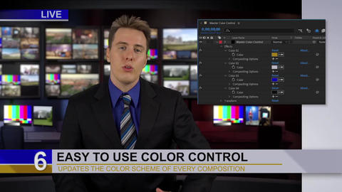 Ultimate Cable News Broadcast Pack After Effects Template